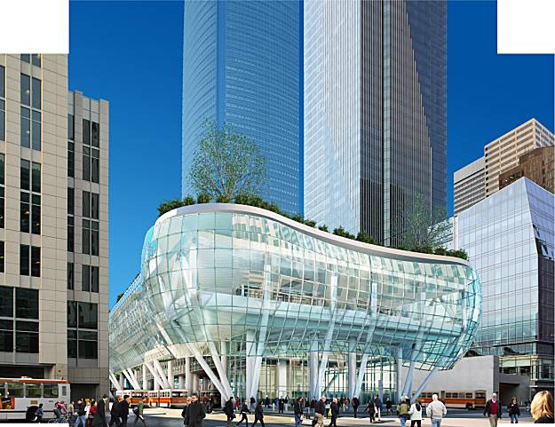 Transbay Tower Bus Terminal SF LEED