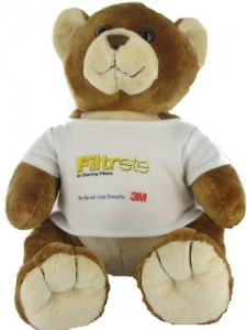 3M Filtrete Asthma Allergy Buddy Bear
