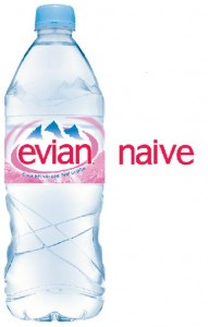 Evian spells naive backwards