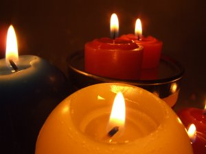scented candles air pollution
