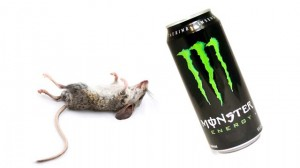mouse found in Monster energy drink can