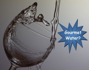 water sommelier, gourmet water, boutique water